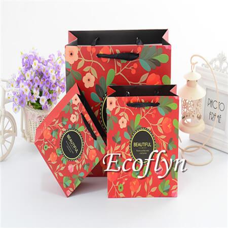premium quality printed paper bags cheap-Ecoflyn