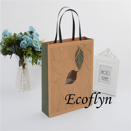 Printed Paper Ping Bags Party Gift Handle Bulk