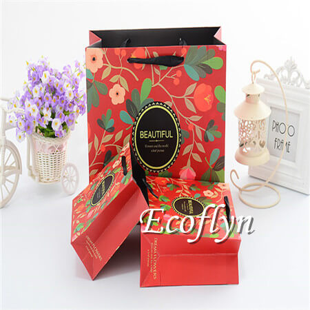 printed paper bags cheap bulk wholesale-Ecoflyn