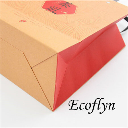 promotional paper bags with logo wholesale-Ecoflyn