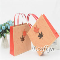 red gift bags bulk