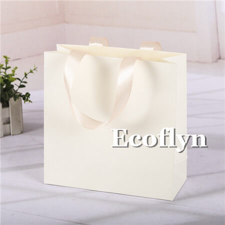 white premium shopping bags bulk supply