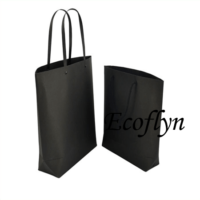 black paper shopping bags