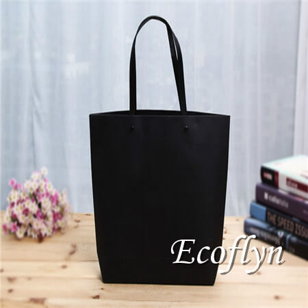 black personalized paper shopping bags bulk supply-Ecoflyn