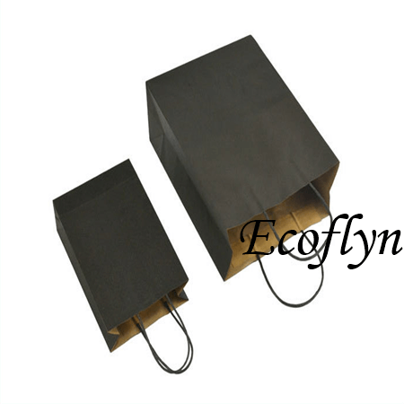 coloured kraft paper bags-Ecoflyn