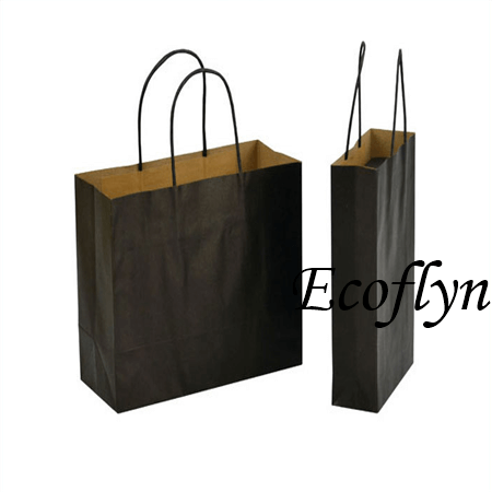 coloured kraft paper bags bulk wholesale-Ecoflyn