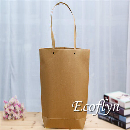 custom personalized paper shopping bags discount offer-Ecoflyn