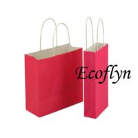 pink kraft paper bags