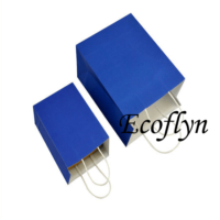 hot sale navy blue paper gift bags offer-Ecoflyn