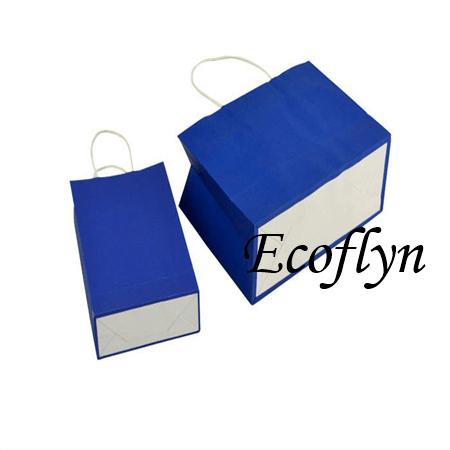 navy blue paper gift bags