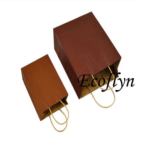 bulk buy paper gift bags brown carrier bags supply-Ecoflyn