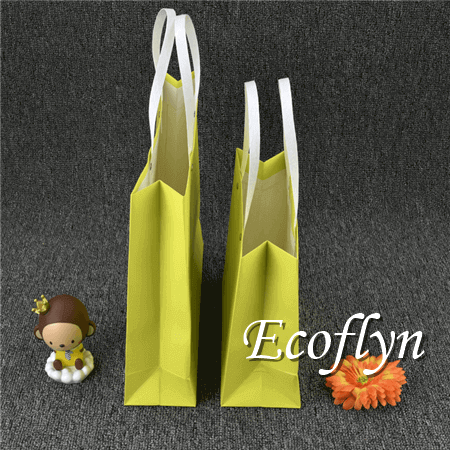 hot sale small yellow paper bags-Ecoflyn