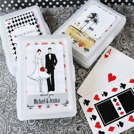 wedding deck of cards