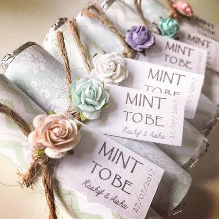 wedding mints