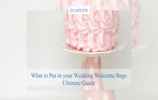 wondering what to put in your wedding welcome bags-Ultimate Guide