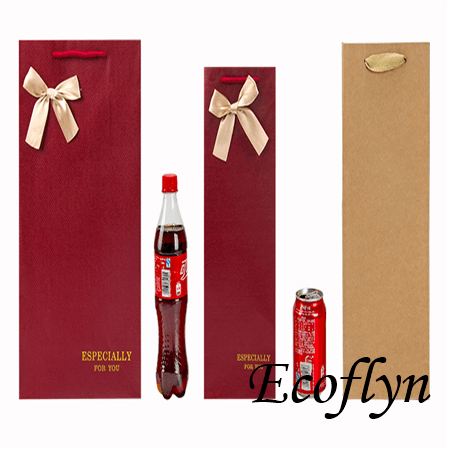 high quality paper bags for wine bottles bulk wholesale
