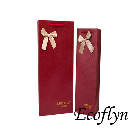 paper bags for wine bottles no minimum
