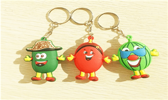 cute custom pvc keychains promotional gifts wholesale
