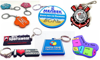 portable custom pvc keychains promotional gifts bulk wholesale supply in China