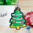 premium quality custom pvc keychains Christmas decor promotional gifts wholesale in China