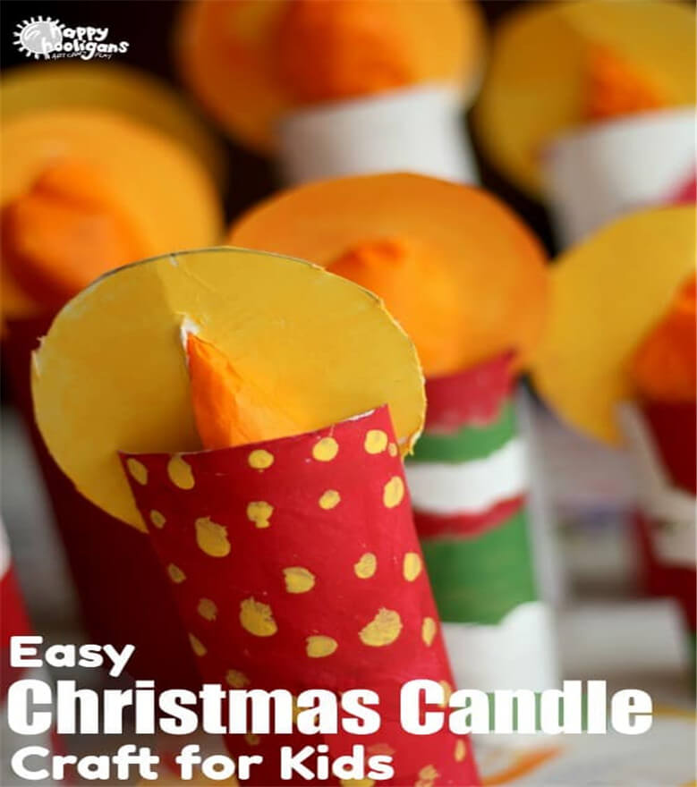 Cardboard-Candle-Craft-for-Kids