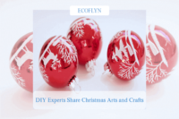 DIY experts share their Christmas arts and crafts