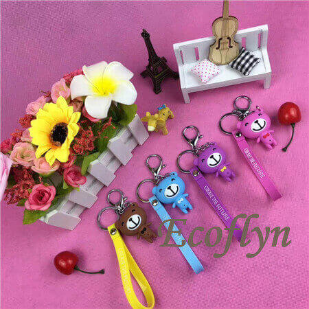 cheap custom keychain free sample low minimum wholesale