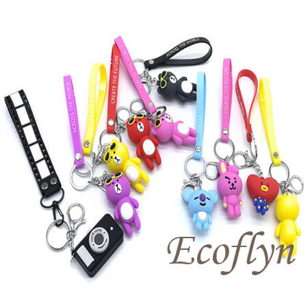 premium quality pvc rubber keychain wholesale
