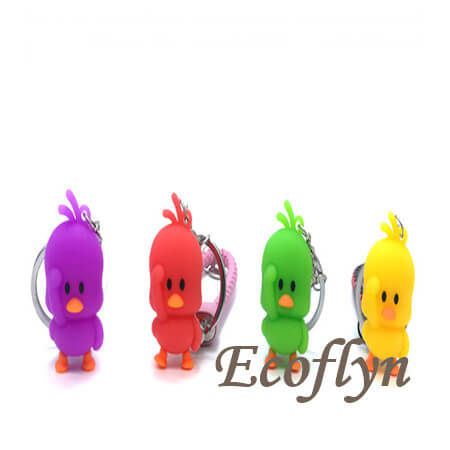 top sale custom rubber duck keychain in bulk