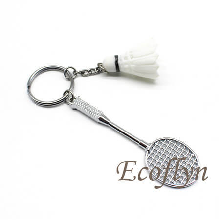 badminton keychain free sample in stock bulk wholesale China