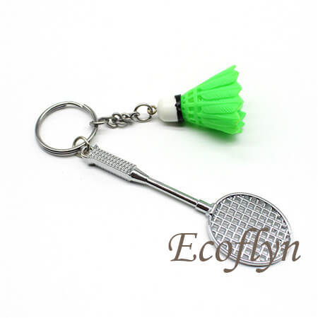 badminton keychain free sample low minimum wholesale China