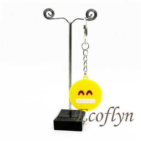 custom emoticon keychains emoji keychains low minimum wholesale