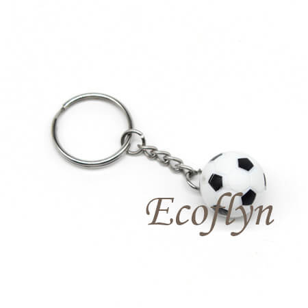 custom personalized ball keychains tiny soccer free sample in bulk wholesale China