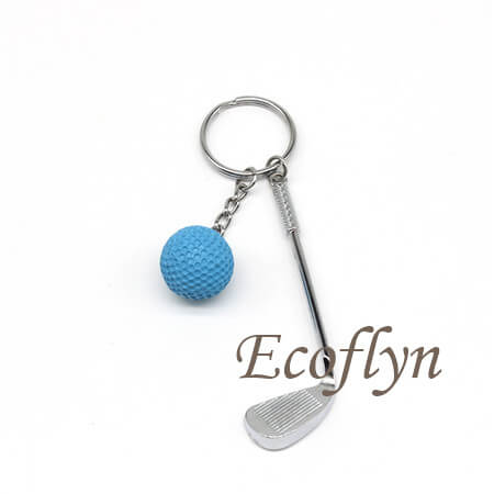 custom personalized golf keychain wholesale in China