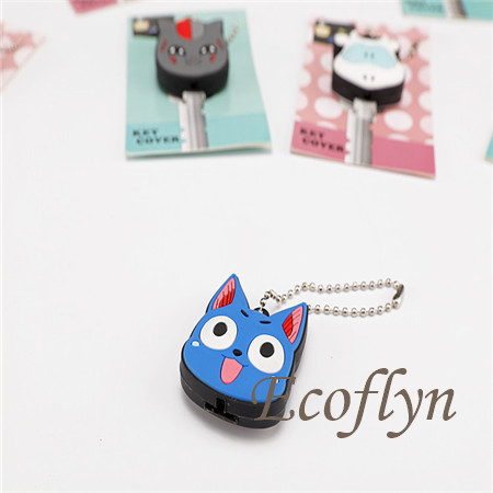 cute key cover with light rubber key covers wholesale in China