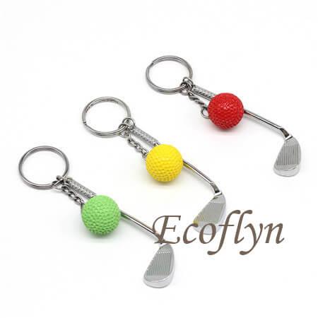 golf keychain bulk wholesale in China