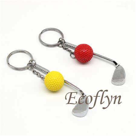 golf keychain bulk wholesale low minimum