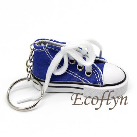 high quality canvas sneaker keychains low minimum wholesale