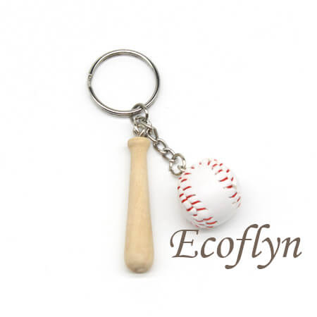 high quality custom baseball keychains in bulk wholesale China
