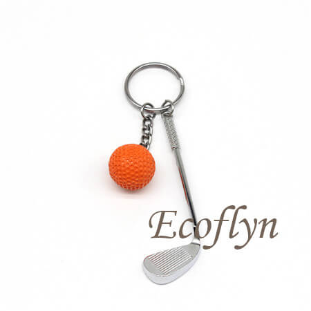 high quality golf keychain promotional gifts in bulk