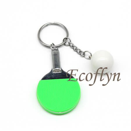 high quality table tennis keychain in bulk wholesale