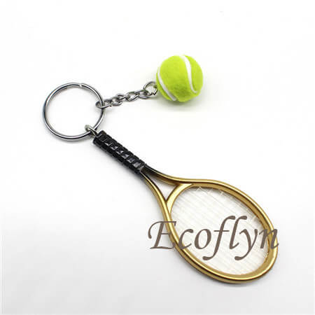 high quality tennis keychains bulk wholesale in China