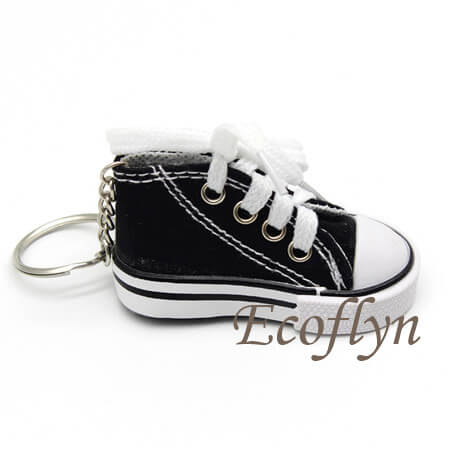 hot sale free sample sneaker keychains low minimum in bulk supply