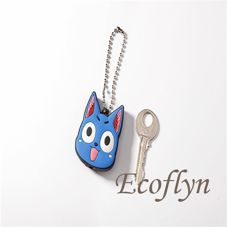 personalized cute key cover with light low minimum wholesale China