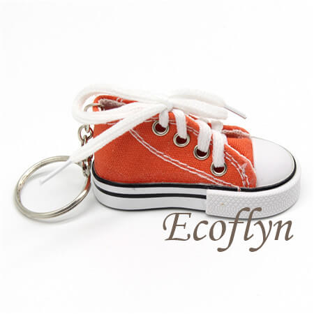 personalized sneaker keychains low miminum wholesale in China