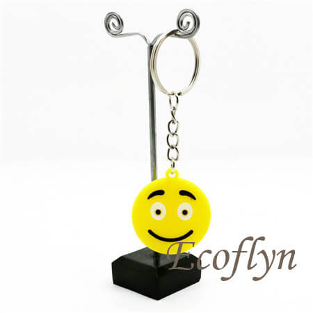 premium quality PVC emoticon keychains emoji keychains bulk wholesale in China