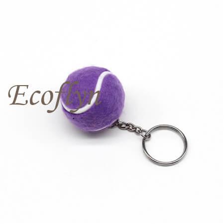 premium quality tennis ball keychain bulk wholesale supply China