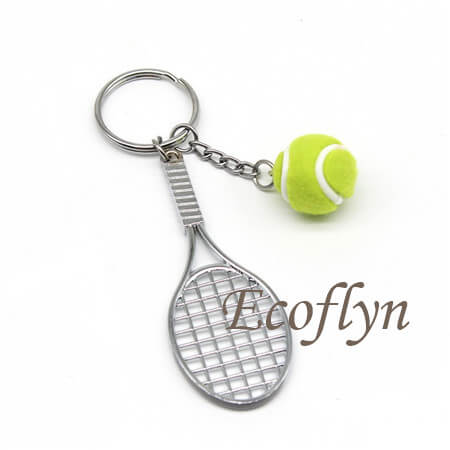 quality tennis keyrings free sample wholesale China