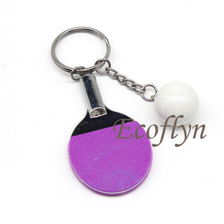 table tennis keychain free sample in stock in bulk China