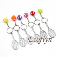 tennis keyrings